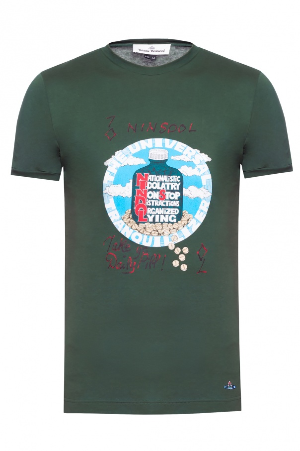 632f25c5e Logo-embroidered T-shirt Vivienne Westwood - Vitkac shop online