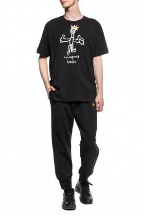 Embroidered t-shirt od Vivienne Westwood
