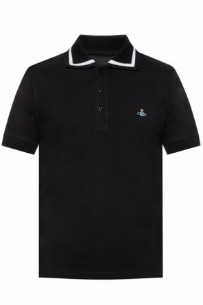 Logo-embroidered polo shirt od Vivienne Westwood