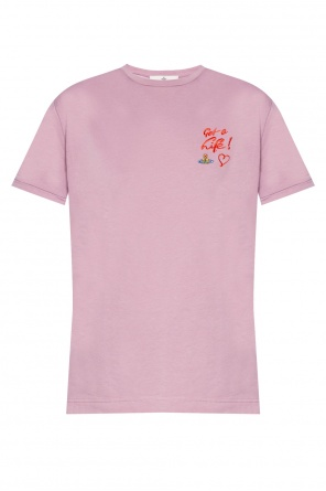 Logo-embroidered t-shirt od Vivienne Westwood