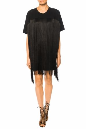 Fringed t-shirt od MM6 Maison Margiela
