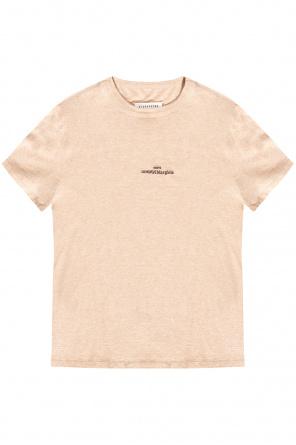 Logo-embroidered t-shirt od Maison Margiela