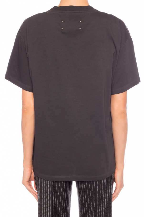 T-shirt with logo od Maison Margiela