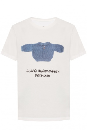 Logo-printed top od MM6 Maison Margiela