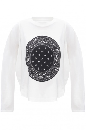 Oversize long-sleeved t-shirt od MM6 Maison Margiela