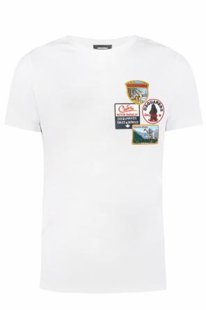 Patched t-shirt od Dsquared2
