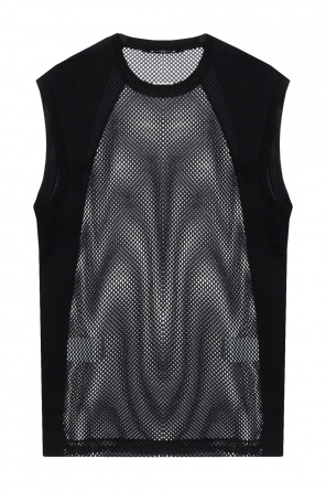 T-shirt trimmed with mesh od Dsquared2