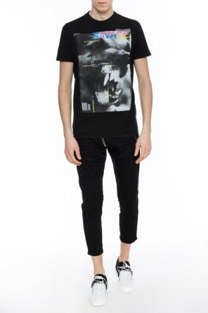 Printed t-shirt with logo od Dsquared2