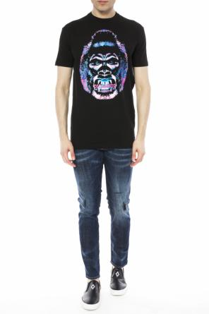 Gorilla head t-shirt od Dsquared2