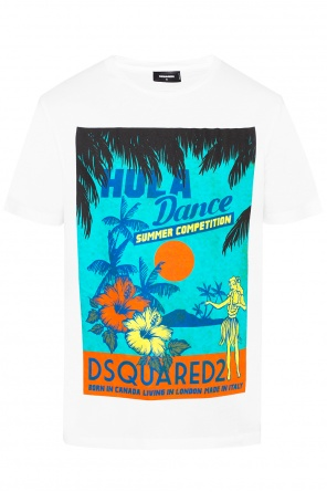 T-shirt with logo print od Dsquared2