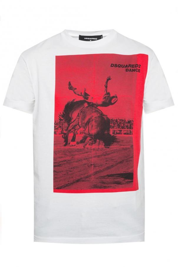 82bbefedf8df58 Printed T-shirt Dsquared2 - Vitkac shop online