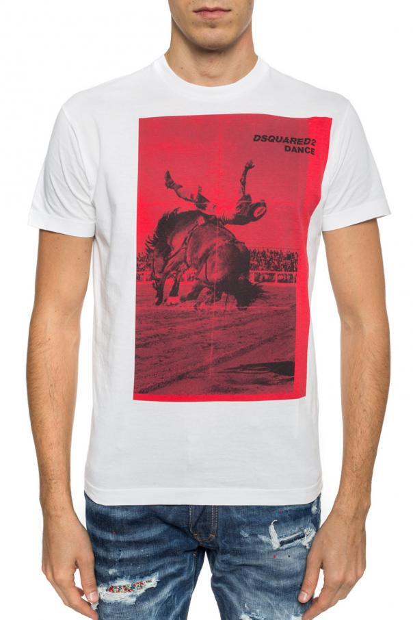 a443c369ecbf9 Printed T-shirt Dsquared2 - Vitkac shop online