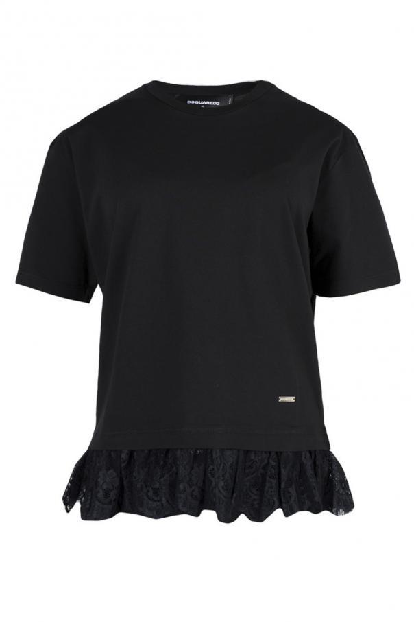 1e8a1802d47587 Lace T-shirt Dsquared2 - Vitkac shop online