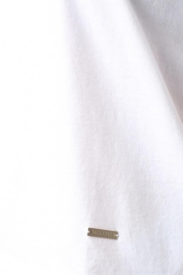 0ad0987a8d6381 Lace bottom T-shirt Dsquared2 - Vitkac shop online