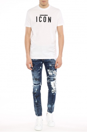 Logo-embroidered t-shirt od Dsquared2