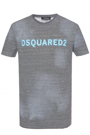 T-shirt with holes od Dsquared2