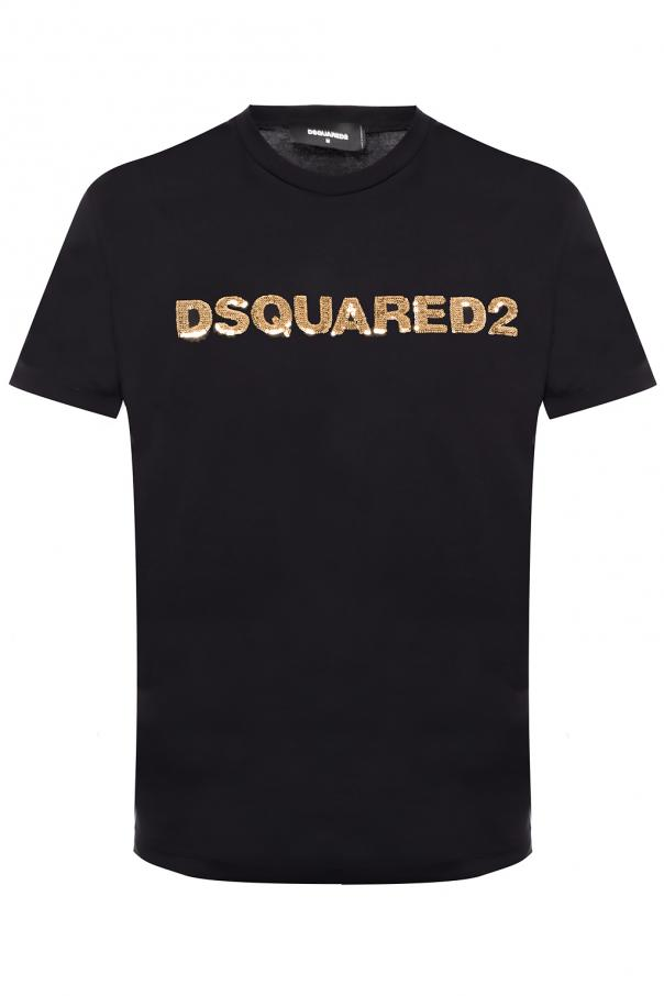 439adc25949d Sequinned T-shirt Dsquared2 - Vitkac shop online