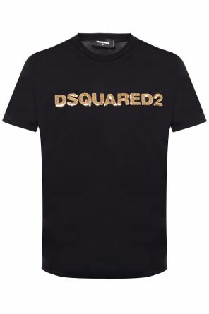 Sequinned t-shirt od Dsquared2