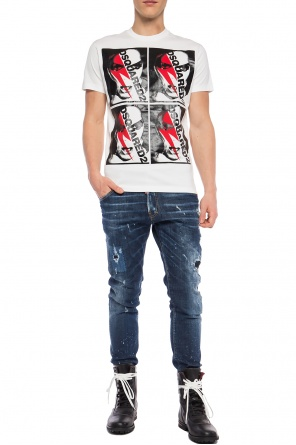 Logo-printed t-shirt od Dsquared2