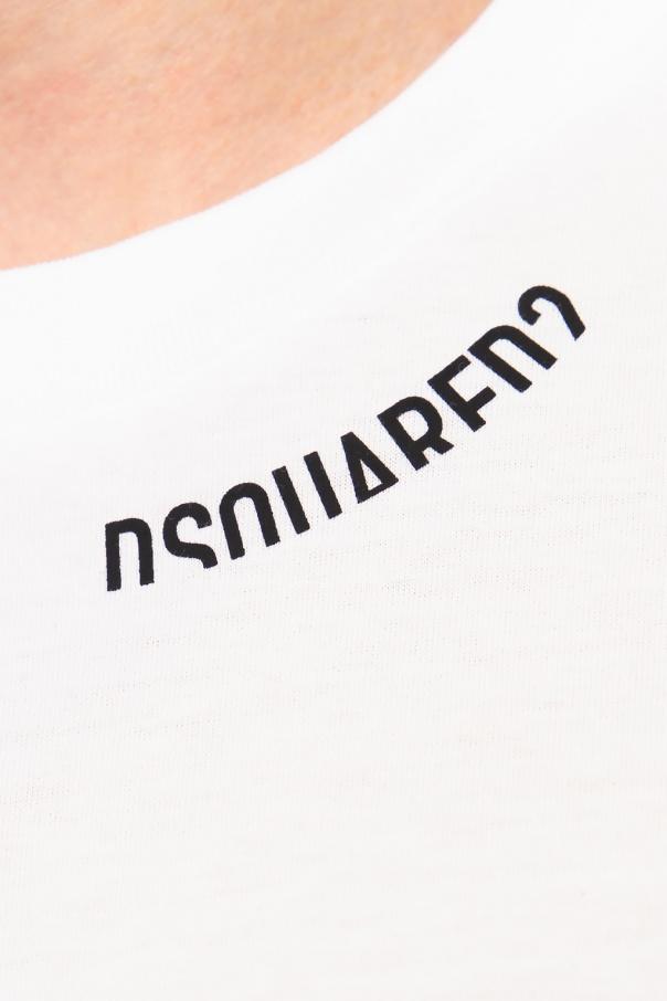Dsquared2 T-shirt z logo YjoV00vS