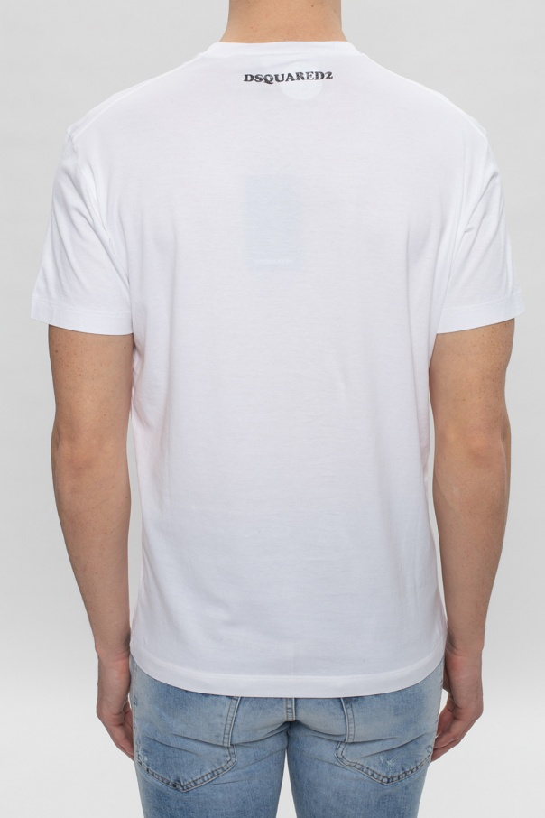 Dsquared2 T-shirt z logo WRZaL08W