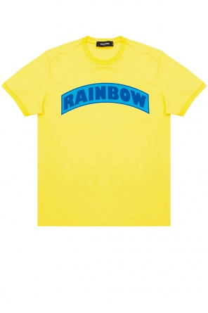 T-shirt z logo od Dsquared2
