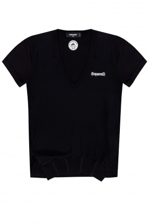 T-shirt with logo od Dsquared2