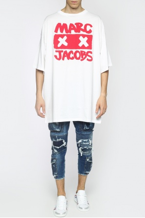Printed oversize t-shirt od Marc Jacobs