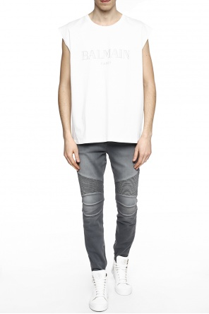Sleeveless top od Balmain