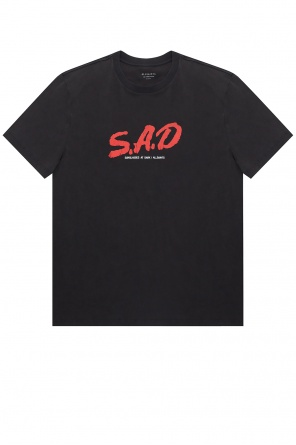 'sad' t-shirt od AllSaints