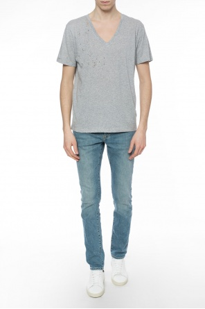 T-shirt with holes od Zadig & Voltaire
