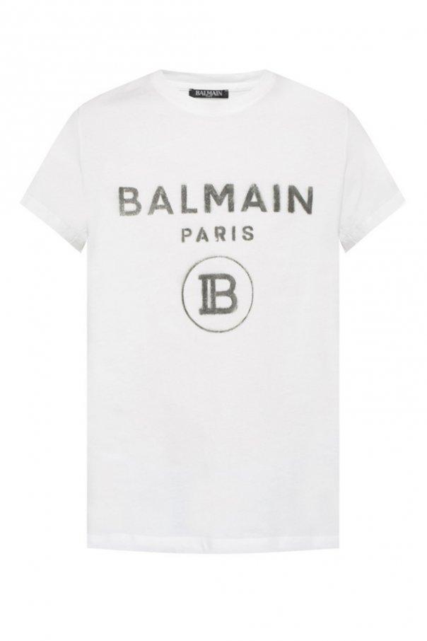 Logo-printed t-shirt od Balmain