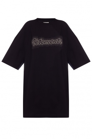 Oversize t-shirt with logo od Vetements