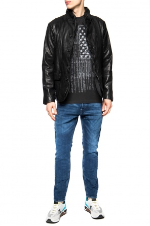 'star of betlehem' printed t-shirt od AllSaints