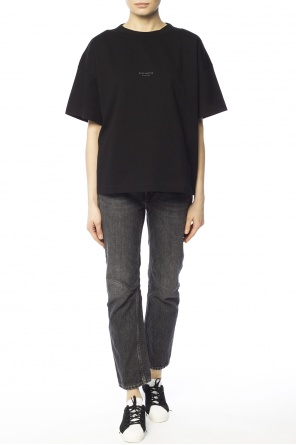 Oversize t-shirt with logo od Acne