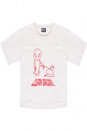 Oversize t-shirt od Diesel