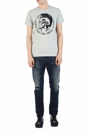 Embroidered logo t-shirt od Diesel