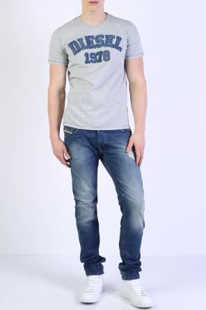 Denim logo t-shirt od Diesel