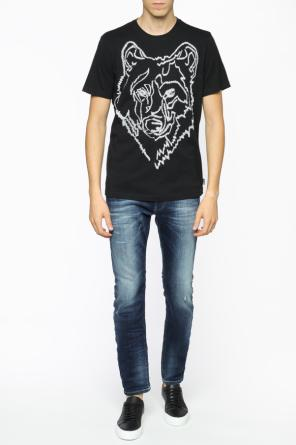 Patterned t-shirt od Diesel