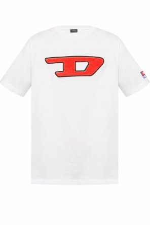 Logo-embroidered t-shirt od Diesel
