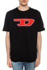 Diesel T-shirt with tactile logo