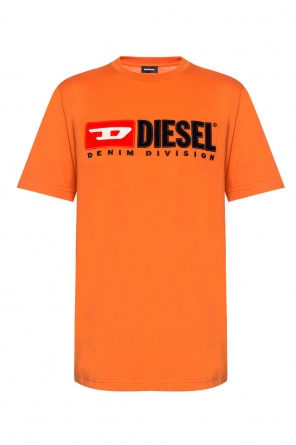 T-shirt with embroidered logo od Diesel