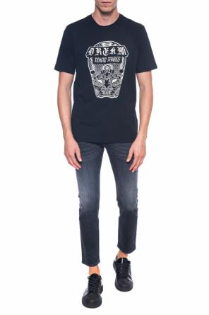 T-shirt with a print od Diesel