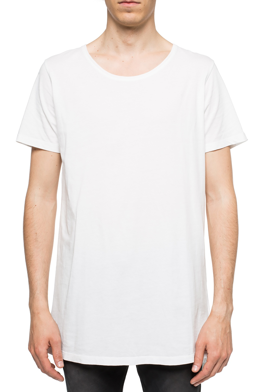 Diesel Long printed T-shirt