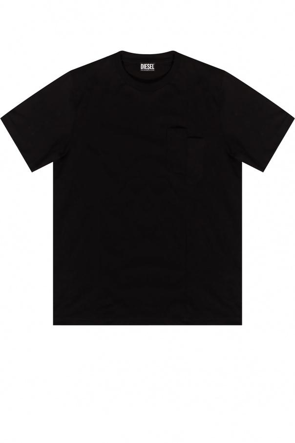 Diesel 饰锋线T恤