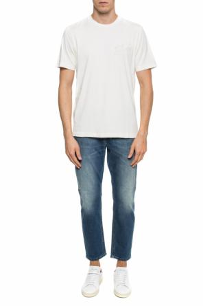 Embroidered t-shirt od Diesel