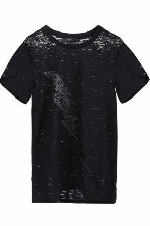 Printed sheer t-shirt od Diesel