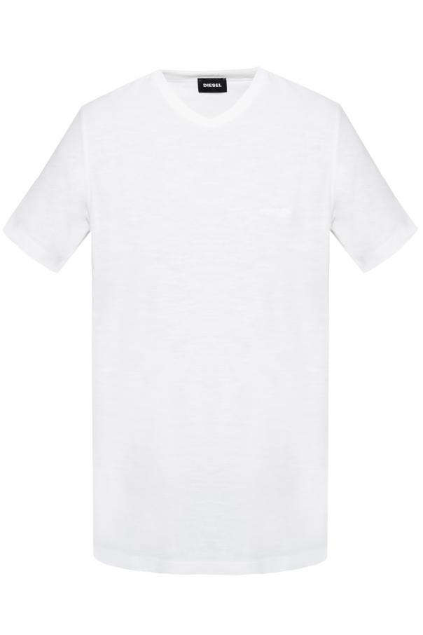 Diesel T-shirt with embroidered logo
