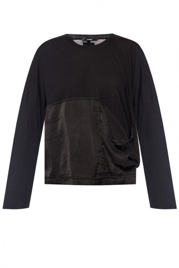 Diesel Top with silk pocket