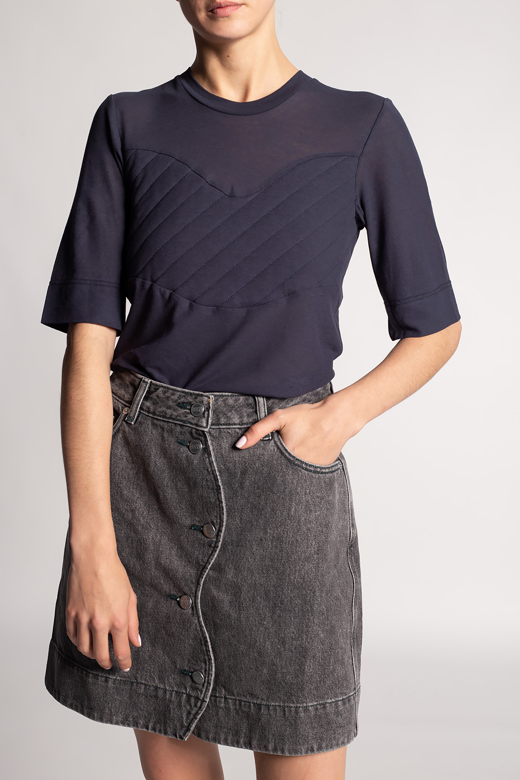 Ganni Organic cotton top